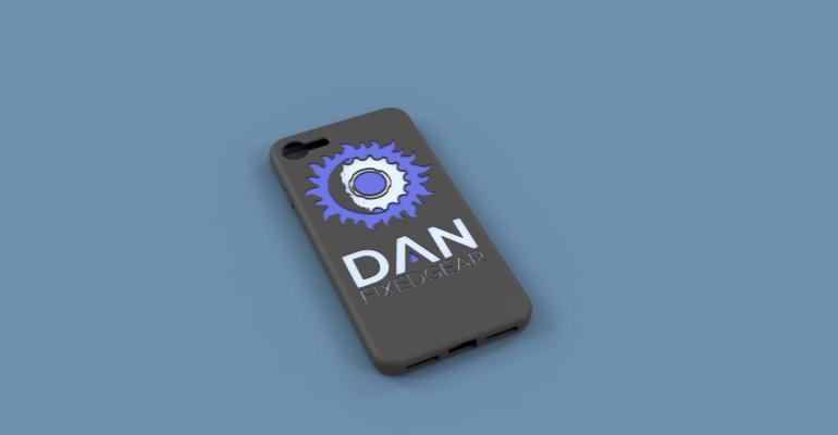 DAN Phone Case w History v3